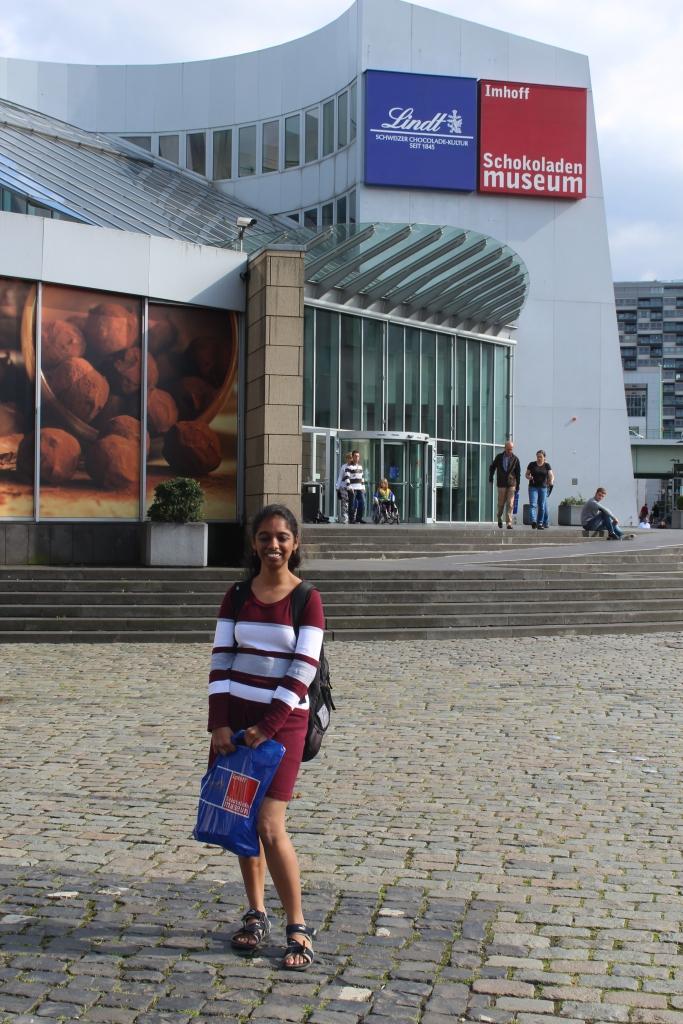 Me & my Chocolate Shopping bag :D