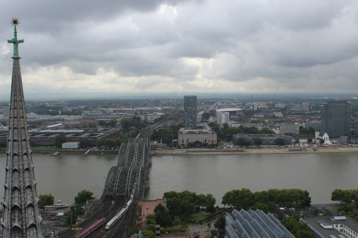 Cologne city from top of the Cathedral!