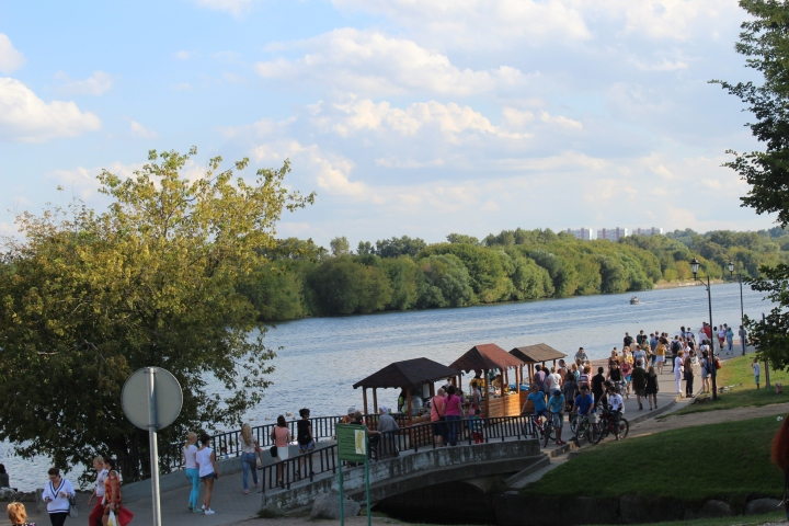 Moscow River side- Kolomenskoye